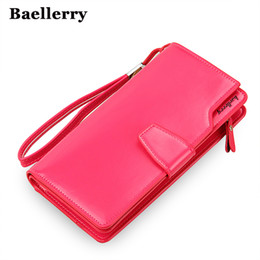 Wholesale New Women Leather Wallet - High Quality women's purse fashion wallet women big capacity leather wallet female long clutch women purse New Arrival HOT !