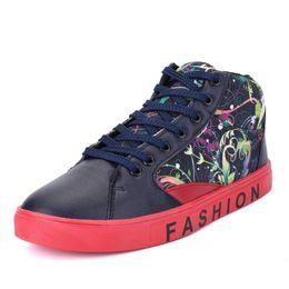 Wholesale Men Rubber Clothes - New fashion leisure sports men's shoes, sneakers, high-quality students winter plus velvet warm shoes, men's fashion clothing for shoes