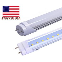 """Wholesale Wholesale T8 Fluorescent Light Fixtures - 4ft led t8 light tubes 22w LED Tube usa Lamps 50w Fluorescent Replacement 48"""" 1200mm SMD2835 Energy Saving Light Fixture Daylight"""