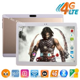 Wholesale Best Dual Sim Phone 3g - Wholesale- 2017 Best New 4G LTE Tablet 10 inch MTK8752 Octa Core 4GB RAM 32GB ROM Dual SIM Cards Android 6.0 3G 4G LTE Phone Tablet 10 10.1