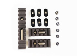Wholesale Ar Picatinny - Pack of 3 pcs AR 15 Rifle Accessory Unity Tactical Multi Purpose Picatinny Rail Mount Set For Handguards Free Shipping ht207