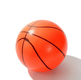 Wholesale Inflatable Green Ball - Mini Basketball Kids Game Ball Baby Toys Ball Bouncing Ball for Indoor Outdoor Pool Use