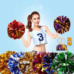 Palla da ballo pvc online-Cheerleading Bouquet Aerobica Square Dance Double Loop Ball Modello di utilità Brevetto PVC Vari colori Sfera Artigianato Personalizzato 2 4 dc J