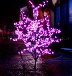 Wholesale Artificial Cherry Blossom Trees - 2017 NEW Handmade Artificial LED Cherry Blossom Tree night Light New year Christmas wedding Decoration Lights 120cm 240LED tree light MYY