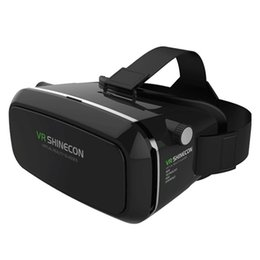 Wholesale Newest 3d Movies - Wholesale- 2016 Newest Multifunction and High Quality SHINECON Virtual Reality Immersive Glasses Headset For 3D Videos Movies Games Dec7
