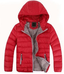 Wholesale Children Clothing Boy Years - Free shipping Children's Outerwear Boy and Girl Winter Warm Hooded Coat Children Clothes boy Down Jacket kid jackets 3-12 years