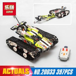 Wholesale Cars Race Track Set - Lepin 20033 Technic Series The RC Track Remote-control Race Car Set Building Blocks Bricks Educational Lovely Gifts Toys 42065