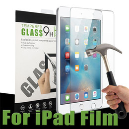 Wholesale Screen Protector Film Tablet - For iPad Mini 4 5 6 Screen Protector 2.5D 9H 0.3mm Clear Touth Tablet PC Film Tempered Glass Accessories with Package