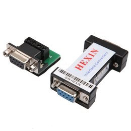 Wholesale Communication Adapter - Wholesale RS232 to RS485 Passive Interface Converter Adapter Data Communication Serial