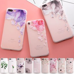 Wholesale Relief TPU Phone Soft Case For iphone plus s Case Ultra thin Simple Scrub Silicone Phone Cases For iphone S Plus