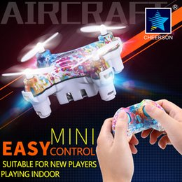 Wholesale Mini Led Modules - Cheerson CX-10D 4CH 6Axis Mini Drone Phone WIFI 0.3MP Camera Battery Protection Module Helicopter Height Hold LED Light