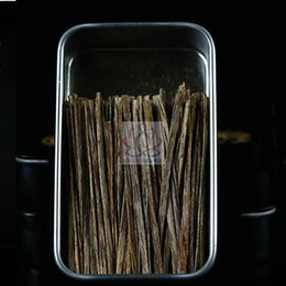 chip sticks Promo Codes - Wholesale- 5 Gram Natural Vietnam Agarwood Chip Stick Oud Gaharu Aloeswood Small Logs of Sticks For Cigaret Stick Incense Free Shipping