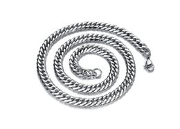 Wholesale Halloween Atmosphere - 2018 Classic atmosphere Men Necklace Titanium steel allergy Stainless Steel chains for Men Jewelry Accessories Punk Style #292