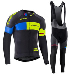 Wholesale Orbea Long Sleeve Cycling Jerseys - Long Sleeve Black 2017 ORBEA Spring Autumn cycling jersey Bisiklet team bike maillot ropa ciclismo Bicycle MTB women TOP Jersey
