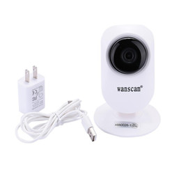 Wholesale Wholesale Wanscam Ip Camera - Wholesale- Cute Durable 720P IP Wanscam Security Camera Baby Monitor Wireless CCTV Camera Indoor Home Security Camera Wireless Surveillance
