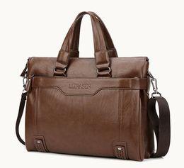 Wholesale Genuine Crocodile Handbag Man - Wholesale- 2017 Luxury Genuine Leather Men Briefcase bag handbag Business messenger Men bag briefcase Sacoche Homme Laptop Bag