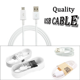 Wholesale Blackberry Cables - Top quality 1.5m 5ft 1.2m 4ft 1M 3ft micro usb data cable android charging line charge cord adapter cables for Cell phone tablet