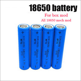 Wholesale Cheap Vamo - Cheap 18350 18650 battery 900mahli-ion rechargeable battery 2200mah 3.7v for tesla VAMO v7 e cigarette e cigs series kbox