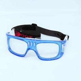 Cheap Basketball óculos de proteção PC Lens Outdoor Sports Futebol de esqui Óculos Ciclismo óculos personalizados lentes de prescrição Homens 7 cores de