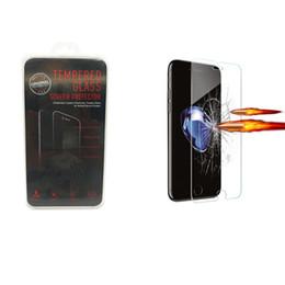 Vidrio templado para el protector de la pantalla de IPhone 7 para Iphone 7Plus 6S más 5S / SE 9H 2.5D con el paquete cristalino desde fabricantes