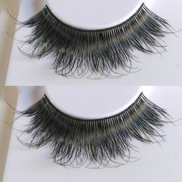 Wholesale Fasle Eyelashes - custom package Faux human hair fasle eyelashes natural long thick eyelashes messy eyelashes Free shipping red cherry 605