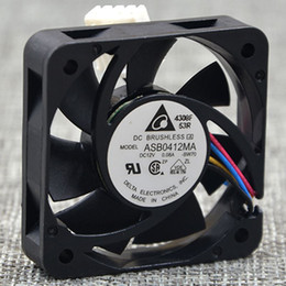 Wholesale computer power supply fans - Delta fan ASB0412MA 4010 12V 0.08A 4CM switch power supply chassis cooling fan