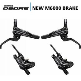 Wholesale New Aluminum Brake - NEW Shimano DEORE M6000 Hydraulic Disc Brake MTB Mountain Bike Calipers Left & Right Levers