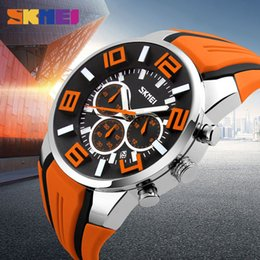 Wholesale Quartz Clock Plastic - Top Fashion Brand Luxury Watches Mens Watches Casual Quartz Wristwatches Waterproof Female Clock Relogio Masculino Drop Shipping