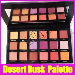 Wholesale 18 Color Eyeshadow - Newest Beauty Makeup Desert Dusk Palette Eyeshadow Palette 18 Color Shimmer Matte Eye Shadow Cosmetics Palette