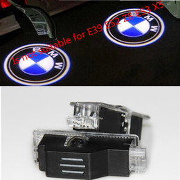 Wholesale Car Door Lighting - 2pcsX Ghost Shadow Light Welcome Laser Projector Lights LED Car Logo For BMW M Performance E60 M5 E90 F10 X5 X3 X6 X1 GT E85 M3