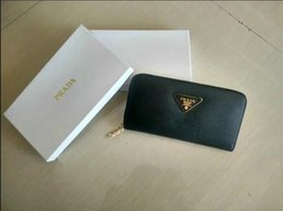 Wholesale Leather Card Purse - Wholesale original box luxury real leather multicolor coin purse date code short wallet Card holder men classic zipper pocket