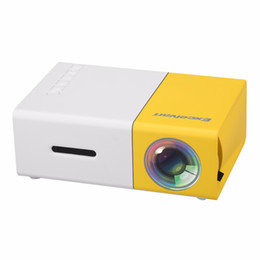 Wholesale interface games - Wholesale-Excelvan YG300 Mini Projector for Video Game 320*240 Support 1080p AV USB  SD card HDMI Interface Home Media Player EU US Plug