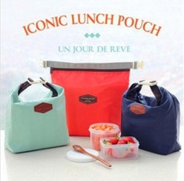 Wholesale Cooler Warmer Bags - Outdoor Lunch Bag Picnic bag Iconic Lunch Pouch Carry Tote Container Warmer Cooler Bag Nylon Storage Bags