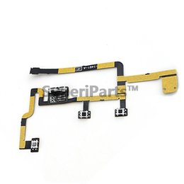 Wholesale ipad volume - Original Volume Button Flex Cable For Ipad 2 Cdma A1395 A1396 Power On  Off Switch Silent Mute Tracking NO.