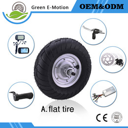 Wholesale Powerful Electric Motor - high speed powerful brushless 13inch electric wheel motor 24v 250w 350w 500w hub motor kit for elderly electric scooter