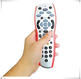 Wholesale Vcr Universal Remote - Newest Sky Remote control Sky HD v9 Remote Controllers Universal Sky HD+Plus Programming Remote Control red orange with retail box