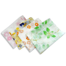 Wholesale Waterproof Restaurant Tablecloths - 80 * 80 cm waterproof tablecloth family restaurant printing tablecloth PVC vinyl tableware tableware kitchen table cover protective film