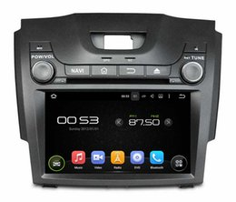 Wholesale Isuzu D Max - 8'' Quad Core Android 5.1 Car DVD Player For S10 Isuzu D-Max 2013-2014 With Radio Stereo GPS Map Wifi BT