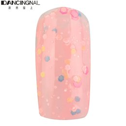 Wholesale Browning Acrylic Nails - Wholesale- 1Pc 7ML 9Colors Cute Baby Doll Acrylic Neon Nail Art Polish DlY Design Colorful Manicure Bright Decor Glitter Varnish Beauty