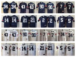 Wholesale Newton S - Auburn Tigers Men Jersey 34 JACKSON 43 LUTZENKIRCHEN 90 FAIRLEY 7 SULLIVAN 2 NEWTON 14 MARSHALL 21 MASON 5 DYER Men College Football Jerseys