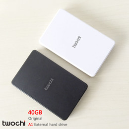 Wholesale 2tb External Drive - Wholesale- Free shipping New Styles TWOCHI A1 Original 2.5'' External Hard Drive 40GB Portable HDD Storage Disk Plug and Play On Sale