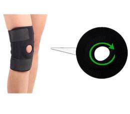Wholesale Breaks Pads - Wholesale- Knee support sports Elastic protection kneecap Adjustable comfortable elbow support genouillere knee braces for breaking