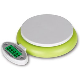 Wholesale Wholesale Fruit Scale - New Practical Green 5KG 1g Fruit Food Scales Smart LCD Display Kitchen Digital Scale Electronic Weight Tool
