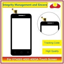 Wholesale Alcatel Digitizer - For Alcatel One Touch Pixi 3 (4) OT4003 4003A 4007E OT4007 OT4009 4009D 4009E OT4010 4010D 4013D OT4013 Touch Screen Digitizer Lens Panel