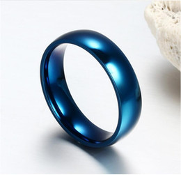 Wholesale Tungsten Comfort Fit Wedding Bands - Fashion Women Men's Wide 6mm Tungsten ring Band Comfort Fit Classic Wedding Plain Dome Polished Size 5-14
