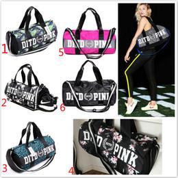 Wholesale Canvas Extra Large Tote Bag - Women Handbags pink Large Capacity PINK Travel Duffle Striped Waterproof Beach Bag Shoulder Bag