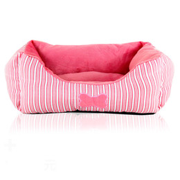 Wholesale Small Pink Sofa - CUTE Small 48*35cm Pink Pet Dog Bed kennel Sofa Puppy Cat Soft Warm Cozy Nest Bed House Plush Pad Cotton Mat Size S L