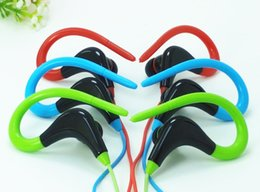 Wholesale Manufacturers Mobile - Manufacturers wholesale IN new love notes - 042 sports ears hanging high spring wheat earbuds that come with apple samsung mobile phone
