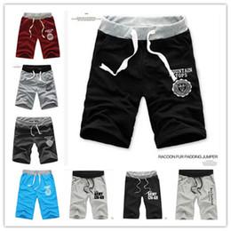 Wholesale Korean Pants For Mens - 2017 New Hot Korean Summer Shorts For Men 5 Colors Slim Casual Cotton Mens Shorts Comfortable Sport Breeches