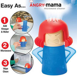Wholesale Microwave Cleaning Angry Mom Oven Steam Cleaner Disinfects With Vinegar and Water Household Cleaning Tools